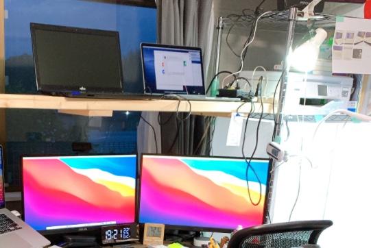 【DIY】在宅ワークのデスク周りの作業環境をサクッとご紹介♪