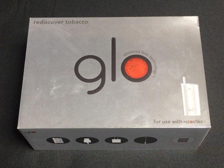 グロー(GLO)の外箱